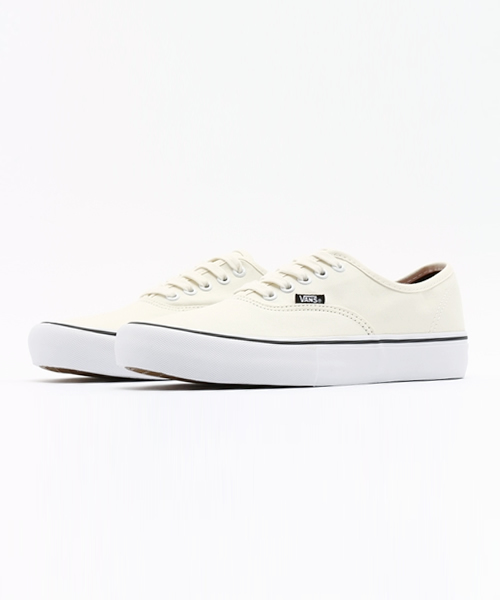 VANS ヴァンズ AUTHENTIC PRO VN000Q0DWWW WHITE/WHITE
