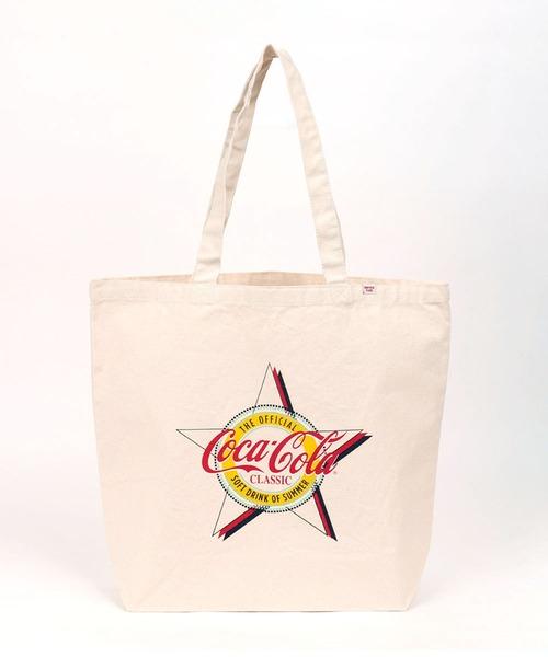 【CONVERSE STARS×COCA-COLA】BIG STARプリントトートバッグ