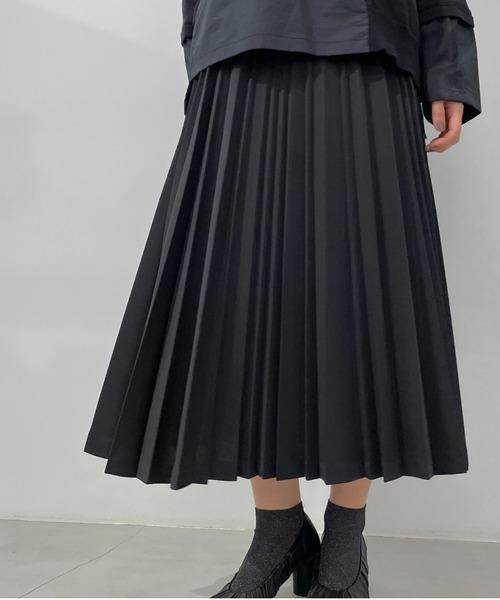 ZUCCa / ランダムプリーツ/スカート