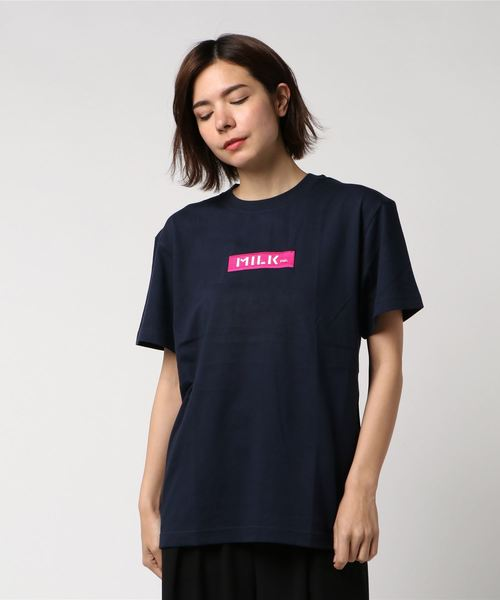 SS TEE EMBROIDERED BAR