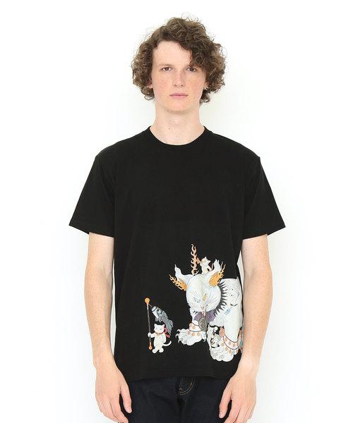 コラボレーションTシャツ/鬼子母猫百号 (石黒亜矢子)