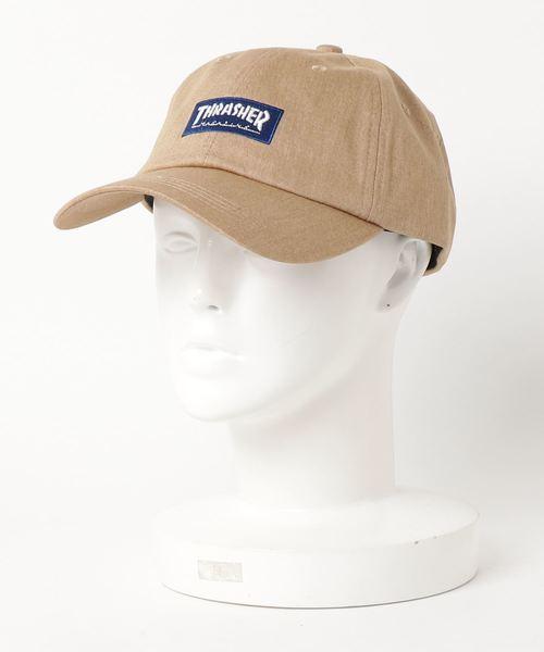 BOX MAG DAD CAP/スラッシャー ロゴ キャップ 帽子 ユニセックス