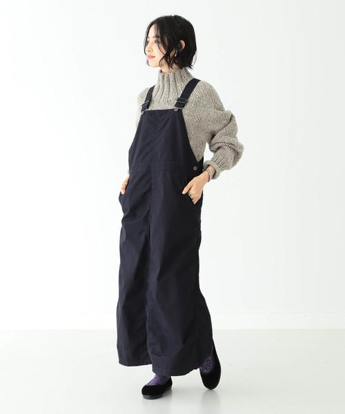 BEAMS BOY / コットン ポプリン ジャンパースカート
