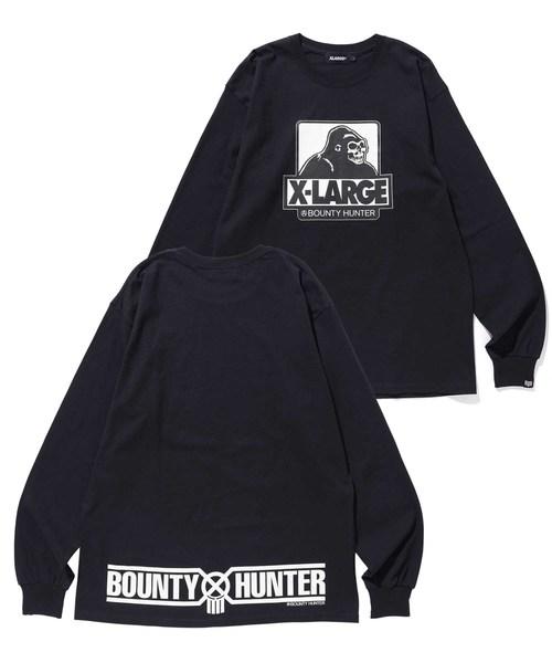 【XLARGE×BOUNTY HUNTER】L/S TEE BH x XL