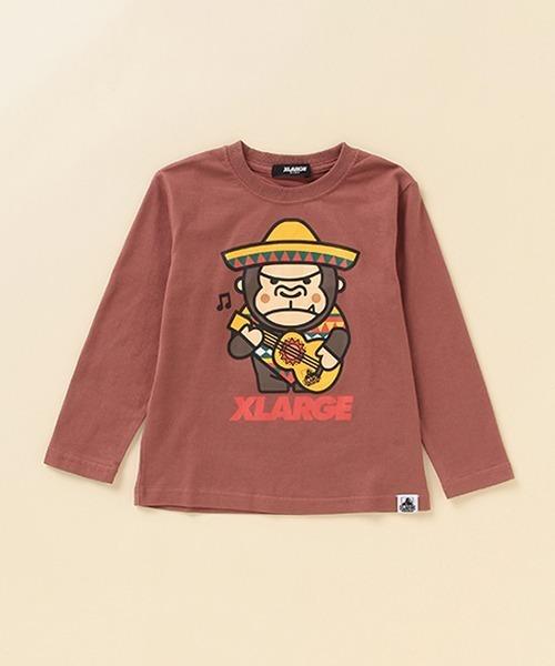 XLARGE KIDS / メキシカンファニーゴリラプリントTシャツ
