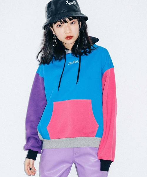 CRAZY COLOR SWEAT HOODIE