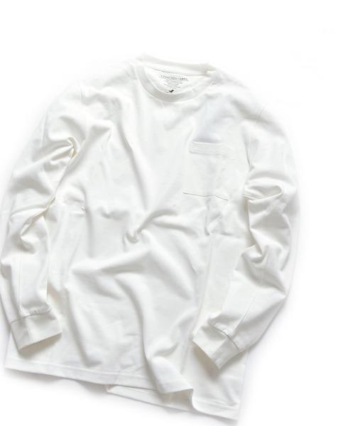 【Begin6月号 p23掲載】SHIPS JET BLUE: 9FUNCTION【接触冷感・抗菌防臭etc】ロングスリーブTシャツ