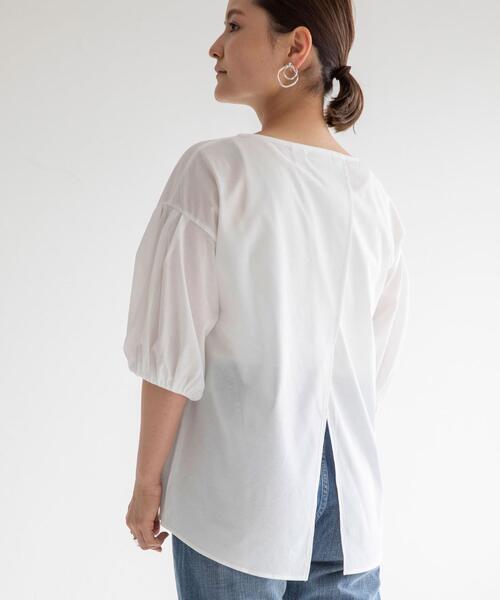 <MGHT> FFC バックスリット Tシャツ