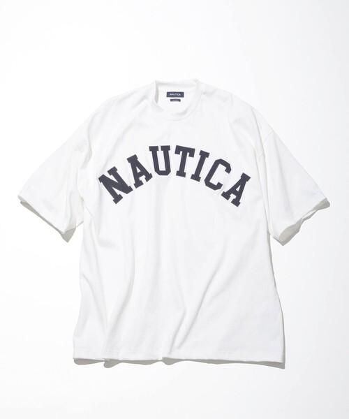 """NAUTICA/ノーティカ """"TOO HEAVY"""" Arch Logo S/S Tee/トゥーヘヴィー アーチロゴショートスリーブTシャツ"""