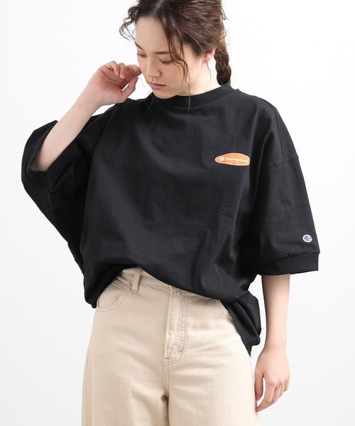 【WEB限定】【Champion】ロゴビッグTシャツ