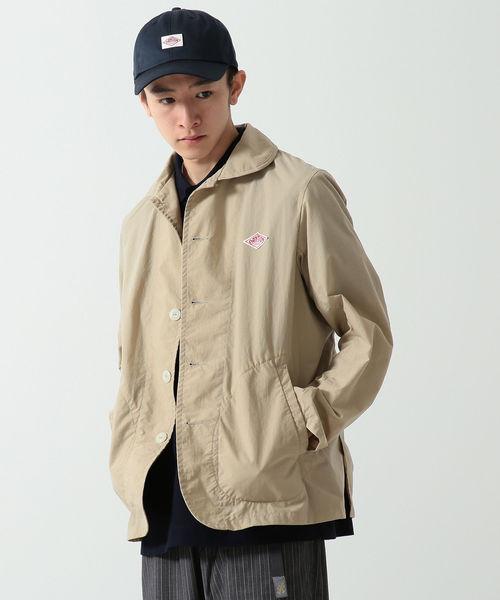 DANTON × BEAMS / 別注 ナイロンタフタ カバーオール ジャケット 19SS