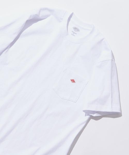 【DANTON/ダントン】 14/-空紡天竺半袖胸ポケTシャツ