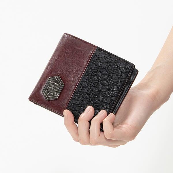 冨岡義勇 モデル 二つ折り財布 鬼滅の刃