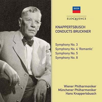 [CD] ブルックナー: 交響曲第3-5番、第8番