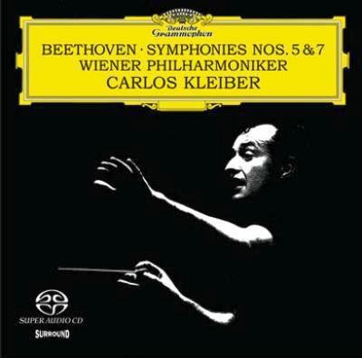 Beethoven: Symphonies No.5 Op.67 (1974), No.7 Op.92 / Carlos Kleiber(cond), VPO