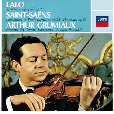 ラロ:スペイン交響曲、サン=サーンス:序奏とロンド・カプリチオーソ、ショーソン:詩曲、ラヴェル:ツィガーヌ<タワーレコード限定>