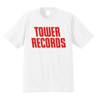 TOWER RECORDS T-shirt ホワイト Sサイズ(店舗限定)