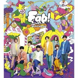Fab! -Music speaks.- [CD+DVD+大型歌詞フォトブックレット]<初回限定盤1>