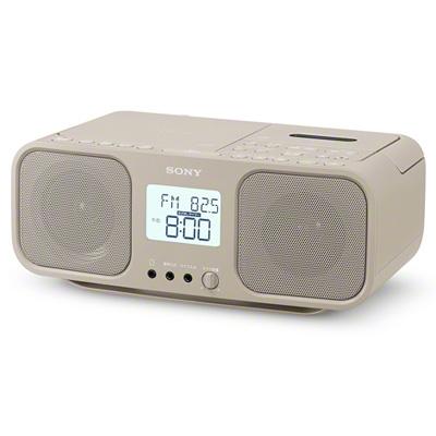 SONY CDラジオカセットレコーダー CFD-S401 ベージュ