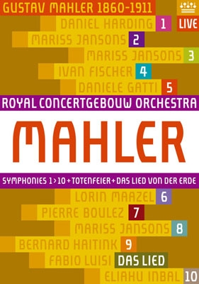 [DVD] Mahler: The Complete Symphonies