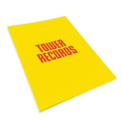 B2ポスターファイル TOWER RECORDS Ver.2 Yellow