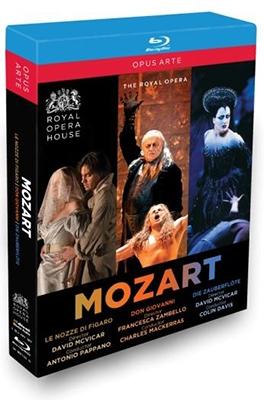 モーツァルト・オペラ・ボックス~歌劇《ドン・ジョヴァンニ》、《魔笛》、《フィガロの結婚》