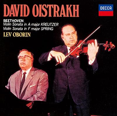 [CD] ベートーヴェン: ヴァイオリン・ソナタ 第9番 「クロイツェル」、第5番 「春」<タワーレコード限定>