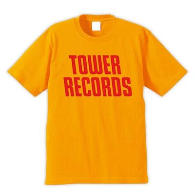 TOWER RECORDS T-shirt イエロー Mサイズ(店舗限定)