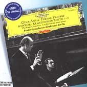 Bartok: The Piano Concertos No.1-No.3 (1959-60) / Geza Anda(p), Ferenc Fricsay(cond), B...