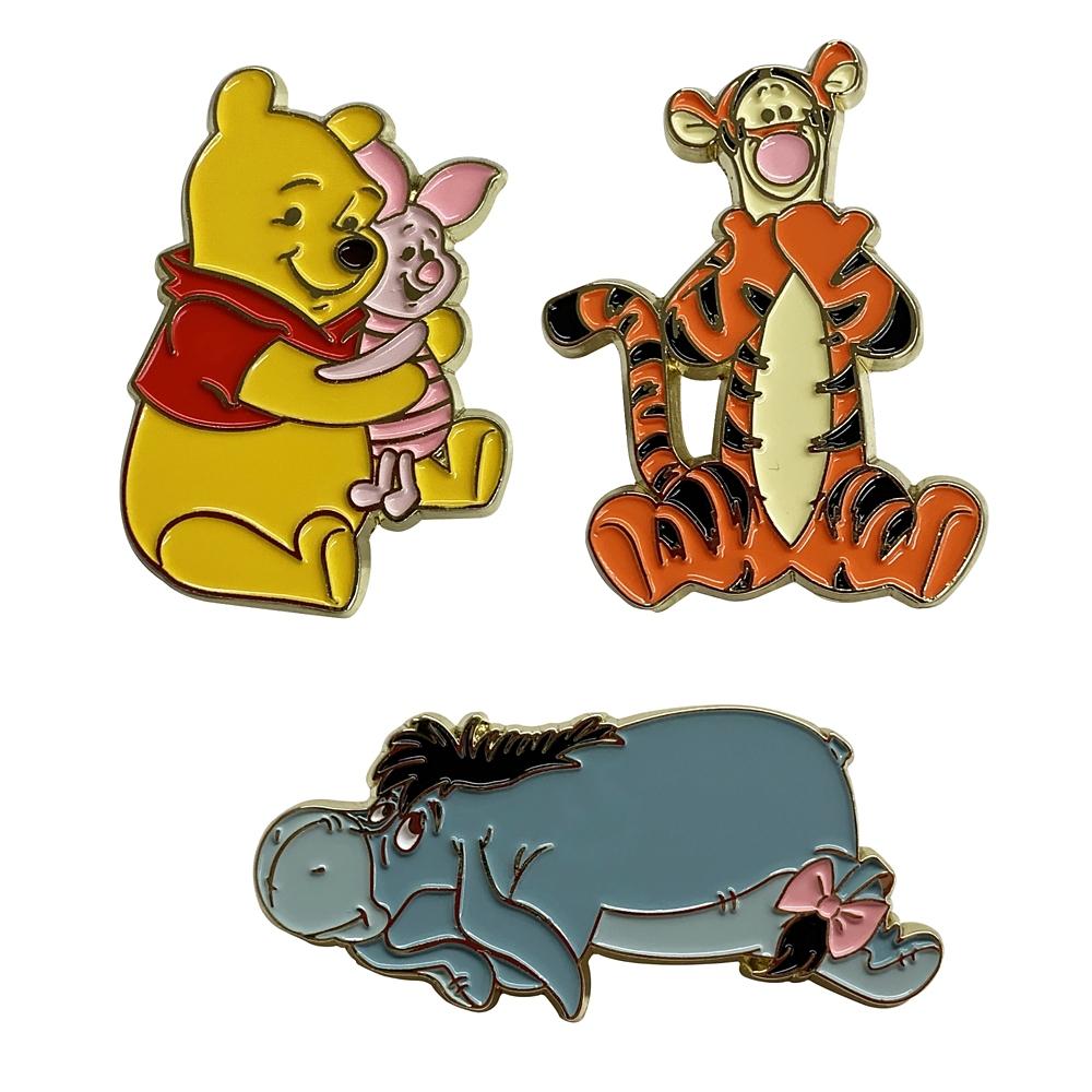 Winnie the Pooh ピンッバッジセットB