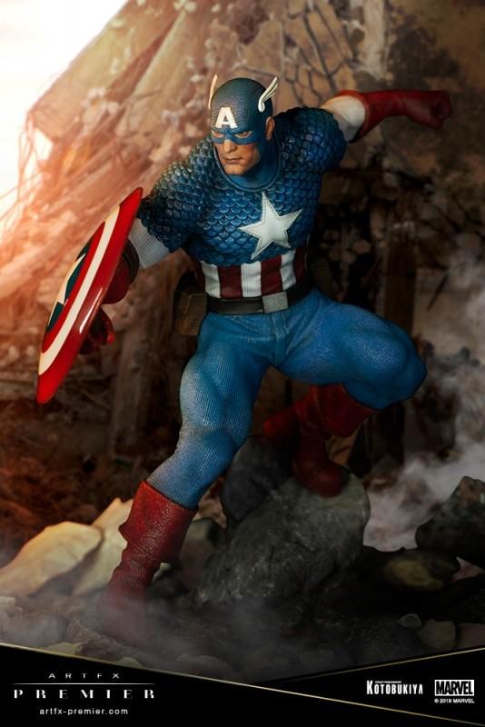 ARTFX PREMIER キャプテン・アメリカ