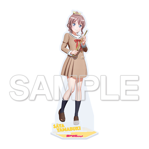 『BanG Dream! 2nd Season』Poppin'Partyアクリルスタンド Ver.山吹沙綾