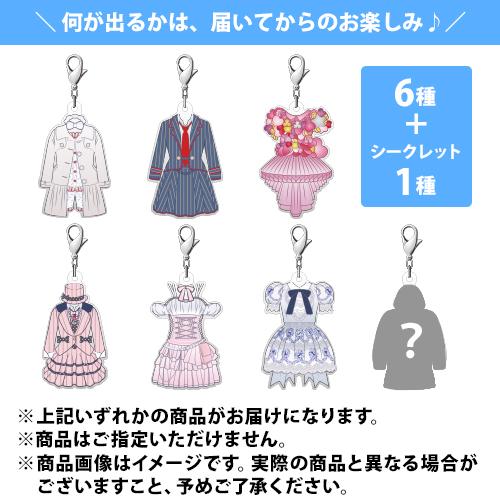 AKB48 渡辺麻友 オフィシャルグッズ シークレットチャーム(パジャマドライブ/初日/心のプラカード/君のC/W/残念少女/ラブラドールレトリーバー)+シークレット