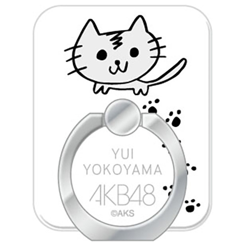 AKB48 メンバーデザイン推しスマホリング 横山由依