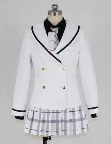 HF_cosご注文はうさぎですか?(ごちうさ) 天々座理世(リゼ) 桐間紗路(シャロ) 学生服 冬服 コスプレ衣装 (女, XL)