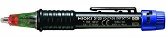Hioki 3120 Twin Light Audible Voltage Detector, 600V AC Voltage by Hioki