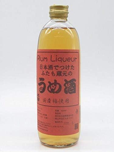 板野酒造本店 日本酒でつけたふたも蔵元のうめ酒 (梅酒) 500ml