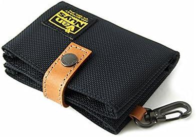 バンナイズ イヤフォン + カード 、 カード + カード 用 ツインケース / Type-C ( バリスティック ナイロン 製 / ブラック )