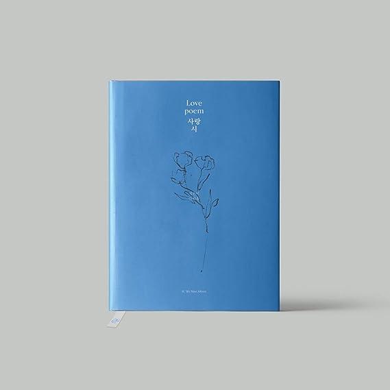 アイユー - Love Poem (5th Mini Album) CD+112ページフォトブック+フォトカード+ブックマーク+Folded Poster [KPOP MAR...