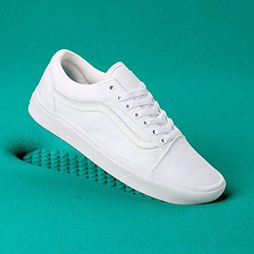 [(バンズ)Vans] ユニセックススケート靴・スニーカー ComfyCush 低反発ソール Old Skool オールドスクール True White/True White ホワイト/ホワイト M:9.5, W:11 (メンズ27.5cm, レディース28cm) [並行輸入品]