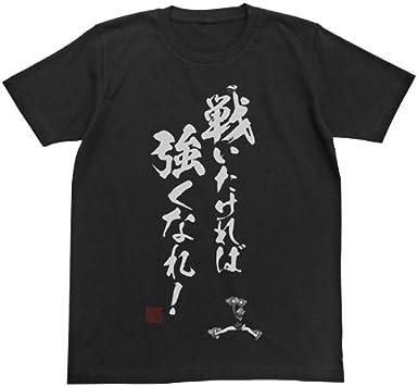ブレイブウィッチーズ 戦いたければ強くなれ Tシャツ ブラック Sサイズ