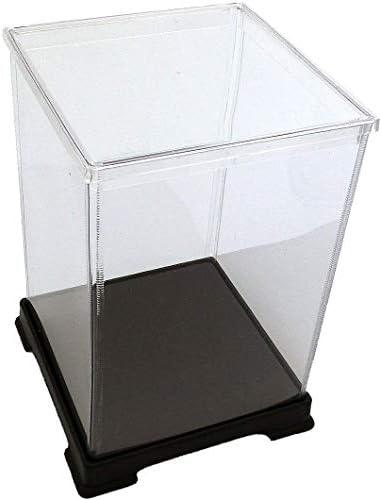 オクタゴン 透明プラスチックケース 横幅27×奥行27×高さ36 cm