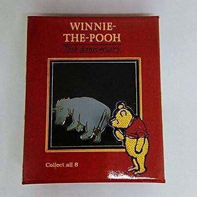 ディズニーストア ジャパン ピンバッジ Disney Gallery 75th Anniversary Pooh シリーズ クラシック イーヨー 2001年 ピン