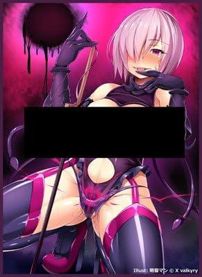 Scarlet Agents/X valkyry カードスリーブ ☆『悪堕ちマシュ/illust:明寝マン』★ 【Character1 2017/COMIC1☆11】