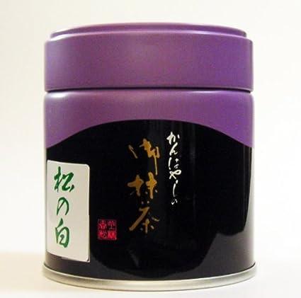 「 綾鷹 」で お馴染み ! 老舗 京都 上林春松本店 の お抹茶 御薄茶「 松の白 」(40g 入) 【 Overseas Delivery 】