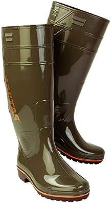 [弘進ゴム] ザクタス Z-100 作業用 耐油 長靴 カーキ【限定色】【日本製】