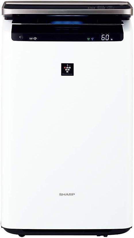 シャープ 加湿 空気清浄機 プラズマクラスター NEXT(50000) プレミアム 23畳 / 空気清浄 40畳 ウイルス 花粉 自動掃除 2017年モデル ホワイト KI-...