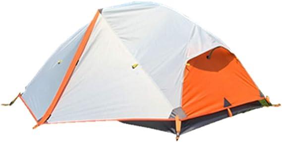 Unafreely 2020年 新 2人用 テント 4シーズン 二重層 高通気性 防雨 防風 防寒 山岳テント Upgrade