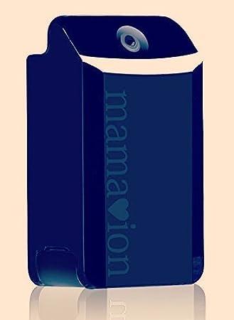 2017年秋発売 ブルー 驚くほど小型のペンダントのようなPM2.5対応高性能 空気清浄機、ママイオンLapis 新発売。重さはわずか19g。性能を3倍にアップ。 (ブルー)