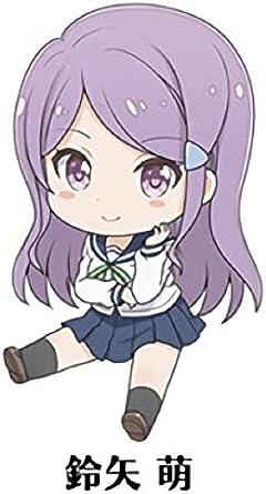 【鈴矢萌】 恋する小惑星 ぺたん娘 トレーディングアクリルストラップ